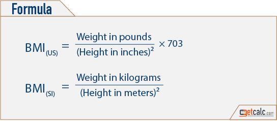 Obese or Overweight? - BMI Calculator