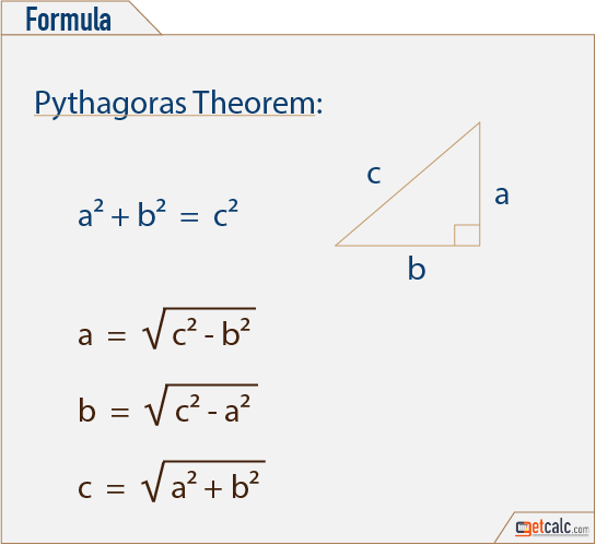 pythagorean theorem triangle calculator. Black Bedroom Furniture Sets. Home Design Ideas