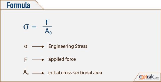 mechanical engineering formulas