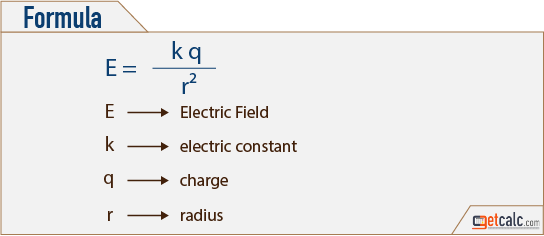 Electric Field Formula