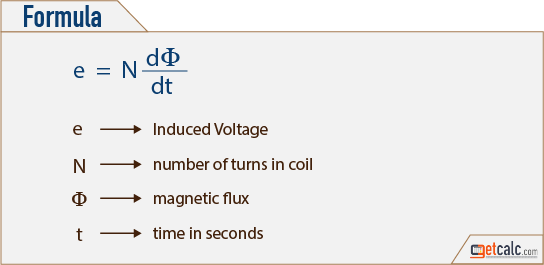 Induced Voltage Formula
