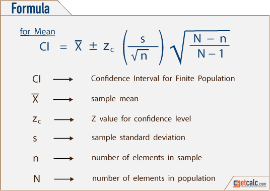 Confidence interval for the mean pdf free